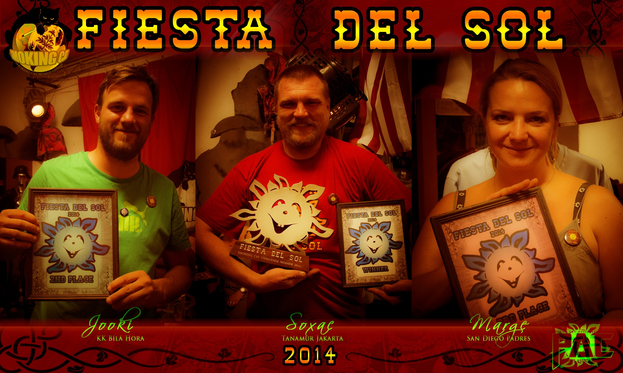 Winners of Fiesta del Sol 2014